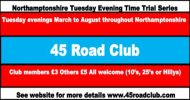 45RC Evening TT Series Events