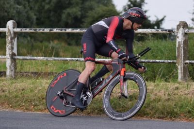Andy Jackson - Whiston Hilly course record ride - 18th July 2017